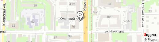 LOFT lounge на карте Томска