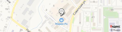 Рябушка на карте Белокурихи