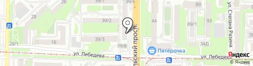Ваш балкон на карте Томска