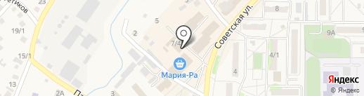 Радуга на карте Белокурихи