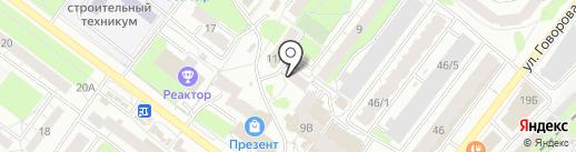 Танго на карте Томска