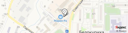Роспечать на карте Белокурихи
