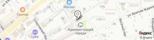 Карат на карте Белокурихи