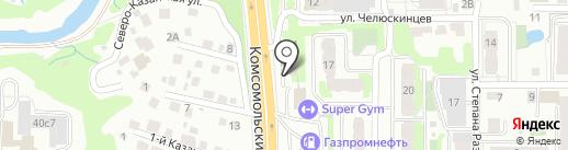 ПРАЙМ ДЕНЬГИ на карте Томска