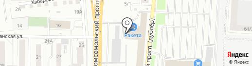 Гараж Мастер на карте Томска