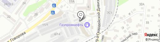 L.E.N. Beer на карте Томска