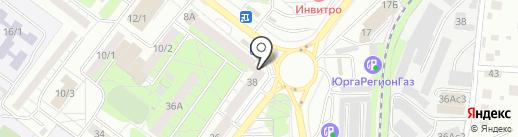 Эконом на карте Томска