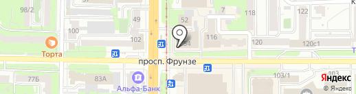 Магазин вышивки, пряжи и фурнитуры на карте Томска