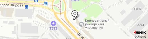 WaterManServis на карте Томска