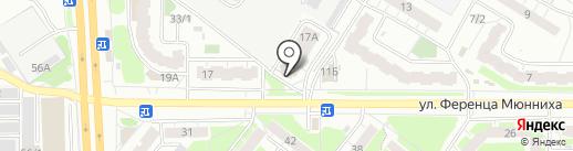 Стиль на карте Томска