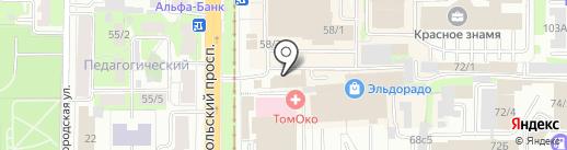 БЛЭК АВТО на карте Томска