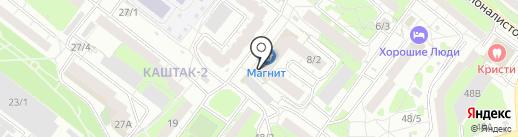 Step-Fit на карте Томска