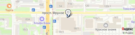 Пресса magazine на карте Томска