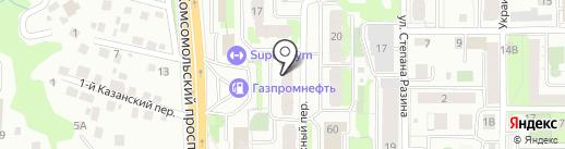 ХаусМастер на карте Томска