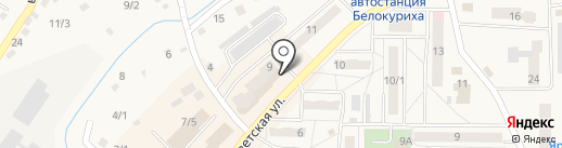 Магазин женской одежды на карте Белокурихи