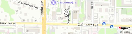 Платье Невесты на карте Томска