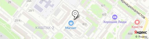 Evrio на карте Томска
