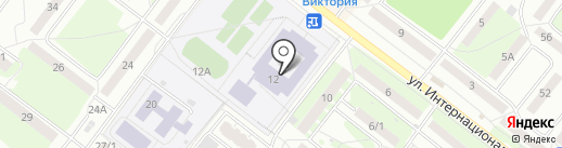 Детская школа искусств №1 им. А.Г. Рубинштейна на карте Томска