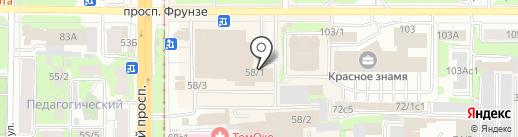 Пельменная на карте Томска
