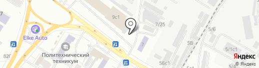 Wedding Show Tomsk на карте Томска