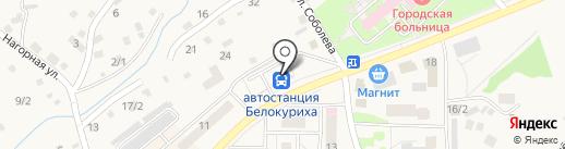 Транс Центр на карте Белокурихи