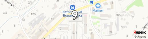 Комплексный центр социального обслуживания населения на карте Белокурихи