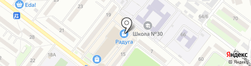 День и ночь на карте Томска