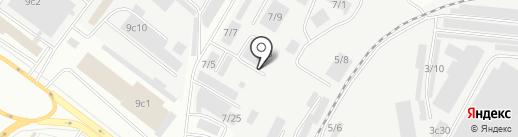 СААЛМИ на карте Томска