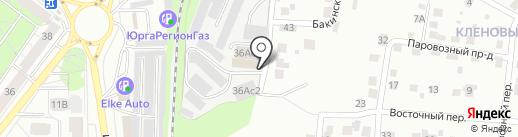 LM GROUP на карте Томска