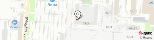 Вента на карте Томска