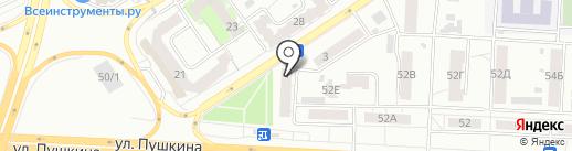 Новое на карте Томска