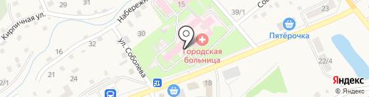 Центральная городская больница на карте Белокурихи