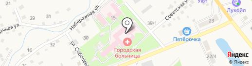 Родильный дом на карте Белокурихи