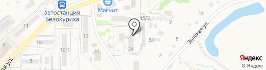Белокурихинская детская школа искусств на карте Белокурихи