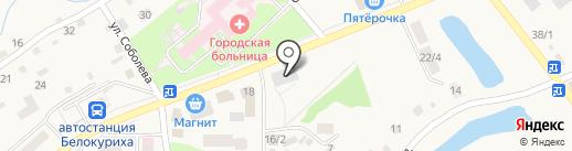 Российский ювелир на карте Белокурихи