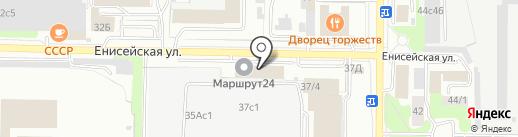 АЛЬФА на карте Томска