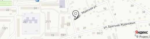 Скат на карте Белокурихи
