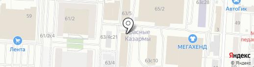 Томская областная федерация дзюдо на карте Томска
