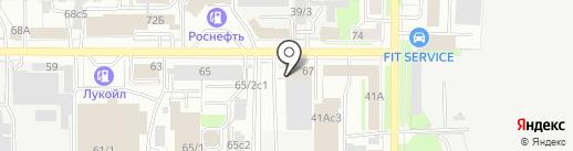 СТЕК на карте Томска