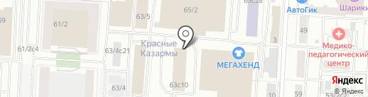 StarT на карте Томска