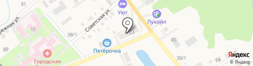 Автомир на карте Белокурихи