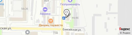 Масломаркет на карте Томска