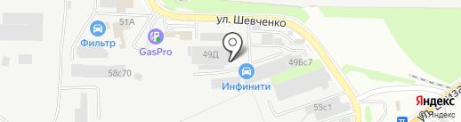 Центр сварочных работ на карте Томска