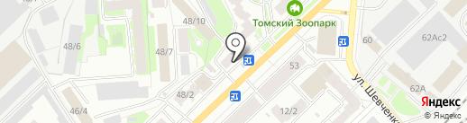 Партнеры по радости, АНО на карте Томска