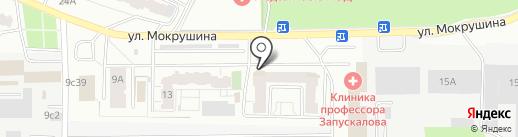 Грин на карте Томска