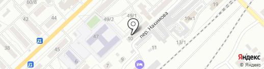 Юна на карте Томска