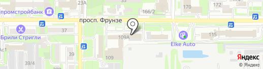 Адвокатский кабинет Шмакова Э.Ф. и Пятых Д.А. на карте Томска