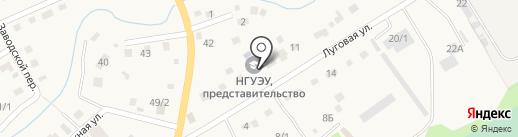 Новосибирский государственный университет экономики и управления на карте Белокурихи
