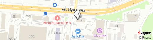 ГОСТ-СТАНДАРТ на карте Томска