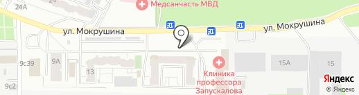 МойМой на карте Томска